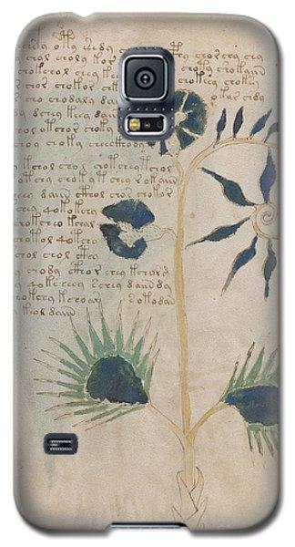Voynich Flora 12 Galaxy S5 Case