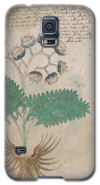 Voynich Flora 14 Galaxy S5 Case