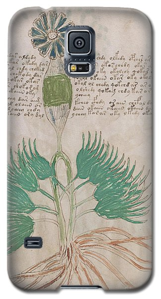 Voynich Flora 16 Galaxy S5 Case
