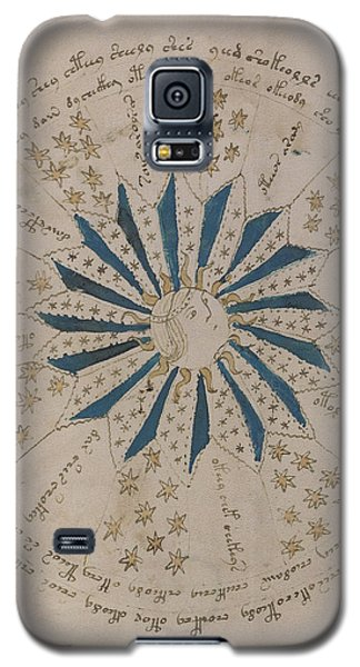 Voynich Manuscript Astro Rosette 1 Galaxy S5 Case