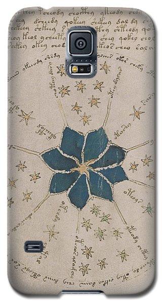 Voynich Manuscript Astro Rosette 2 Galaxy S5 Case