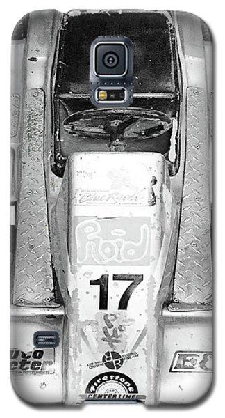 Galaxy S5 Case featuring the mixed media Vroom by Tony Rubino