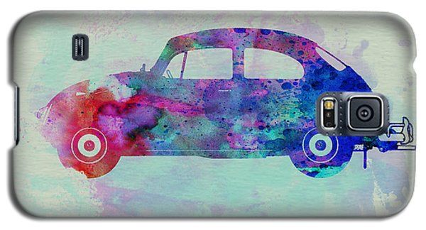 Beetle Galaxy S5 Case - Vw Beetle Watercolor 1 by Naxart Studio