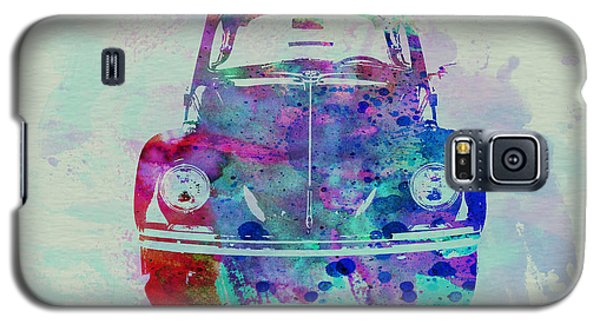 Beetle Galaxy S5 Case - Vw Beetle Watercolor 2 by Naxart Studio