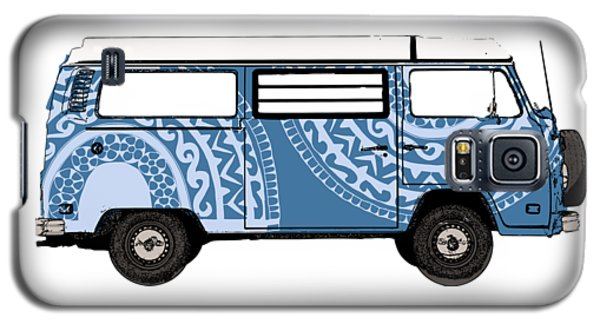 Vw Blue Van Galaxy S5 Case