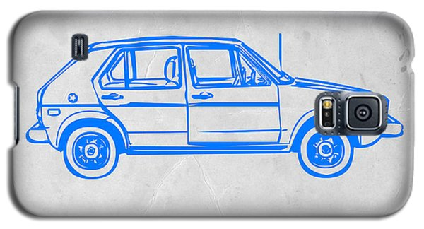 Beetle Galaxy S5 Case - Vw Golf by Naxart Studio