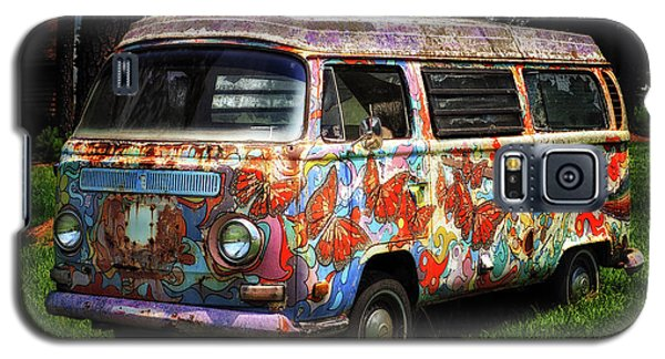 Vw Psychedelic Microbus Galaxy S5 Case