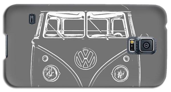 Vw Van Graphic Artwork Tee White Galaxy S5 Case