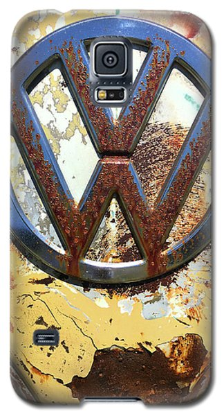 Vw Volkswagen Emblem With Rust Galaxy S5 Case