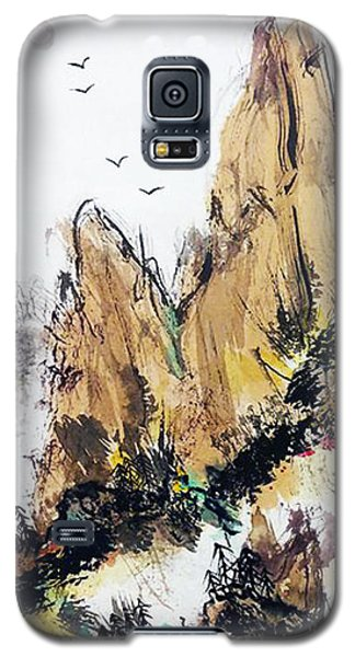 Wabi Sabi  Rising Up Galaxy S5 Case