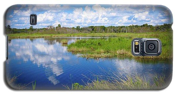 Wading Bird Way Galaxy S5 Case