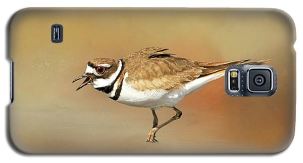 Wading Killdeer Galaxy S5 Case by Donna Kennedy