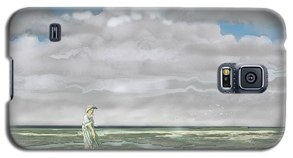 Wading The Salt Flats Galaxy S5 Case