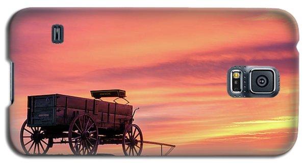 Wagon Afire Galaxy S5 Case