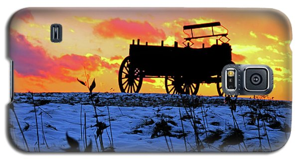 Wagon Hill At Sunset Galaxy S5 Case