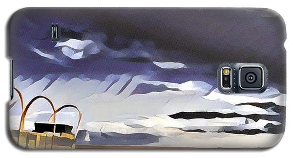 Wagon Train Galaxy S5 Case