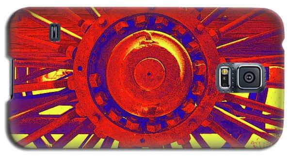 Wagon Wheel Galaxy S5 Case by Cynthia Powell