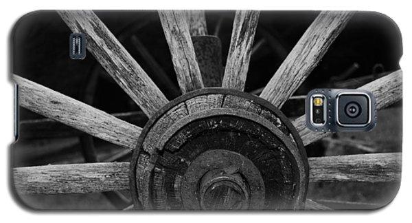 Wagon Wheel Galaxy S5 Case by Eric Liller