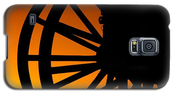Wagon Wheel Sunset Galaxy S5 Case