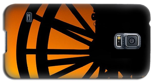 Wagon Wheel Sunset Galaxy S5 Case