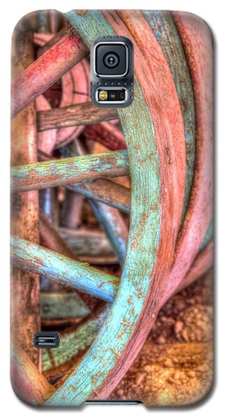 Wagon Wheels Galaxy S5 Case