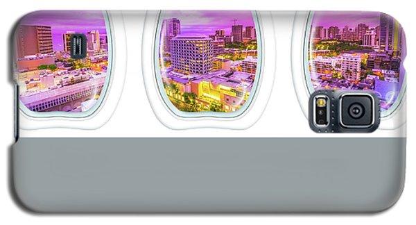 Waikiki Porthole Windows Galaxy S5 Case