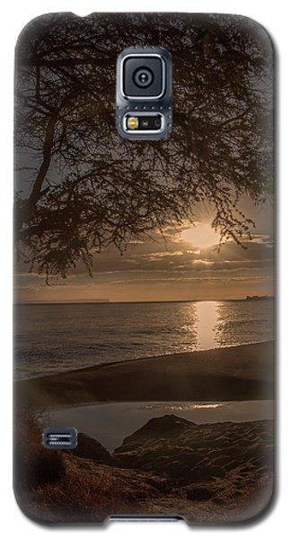 Waimea Bay Sunset 4 Galaxy S5 Case