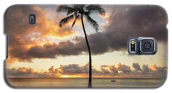 Waimea Beach Sunset - Oahu Hawaii Galaxy S5 Case