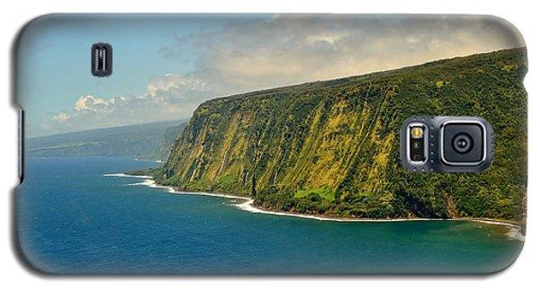 Waipio Waterfall Coastline Galaxy S5 Case