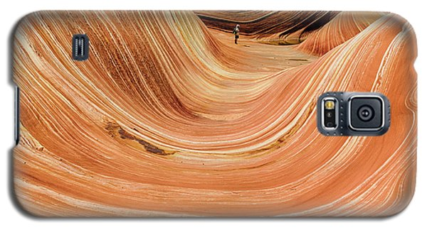 Waiting At The Wave Galaxy S5 Case