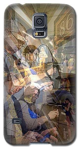 Waiting For 6 Train Collage Galaxy S5 Case