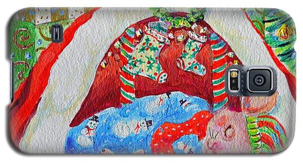Waiting For Santa Galaxy S5 Case by Li Newton