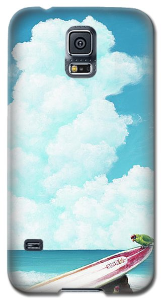 Waiting For Surf Galaxy S5 Case