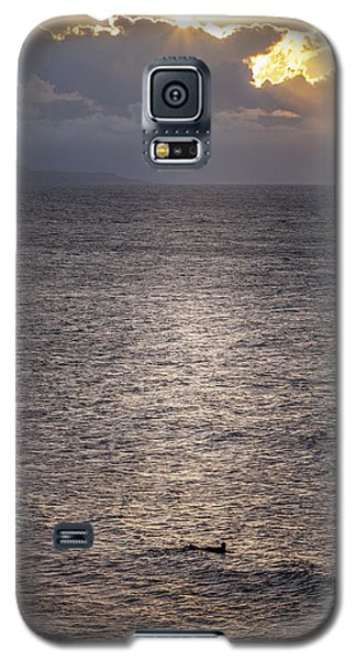 Waiting For The Last Wave Of The Day Galaxy S5 Case