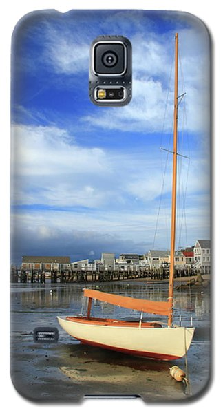Galaxy S5 Case featuring the photograph Waiting For The Tide by Roupen  Baker