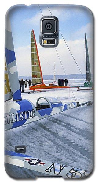 Waiting For Wind - Lake Geneva Wisconsin Galaxy S5 Case
