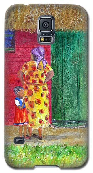 Waiting In Zimbabwe Galaxy S5 Case by Patricia Beebe
