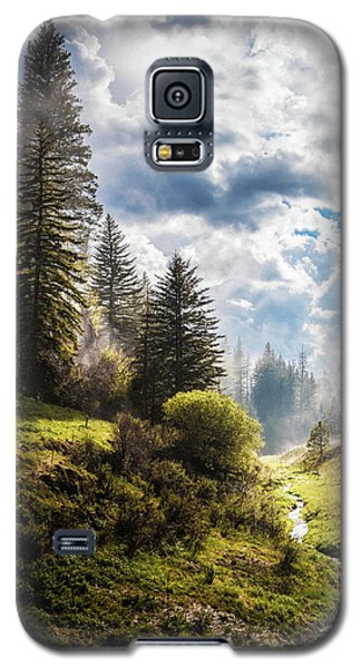 Waiting Out The Rain Galaxy S5 Case