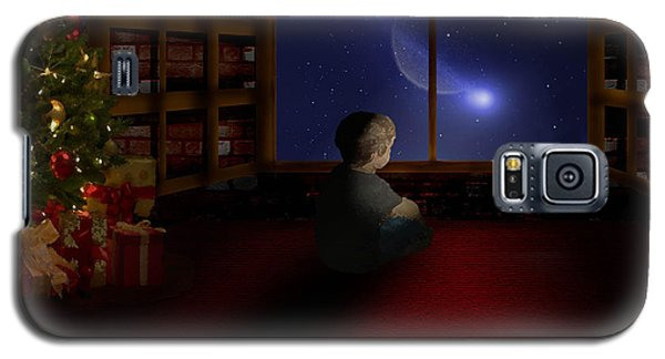 Waiting Santa Galaxy S5 Case