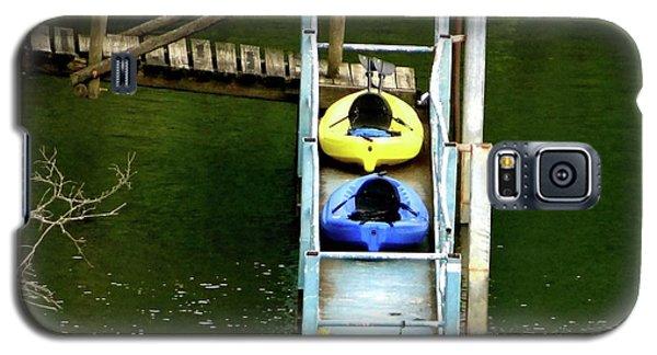Waiting To Kayak Galaxy S5 Case