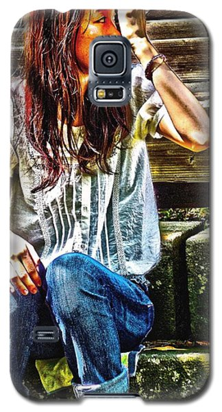 Galaxy S5 Case featuring the digital art Waitng For You by Tim Ernst