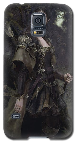 Waldelfe Galaxy S5 Case by Eve Ventrue