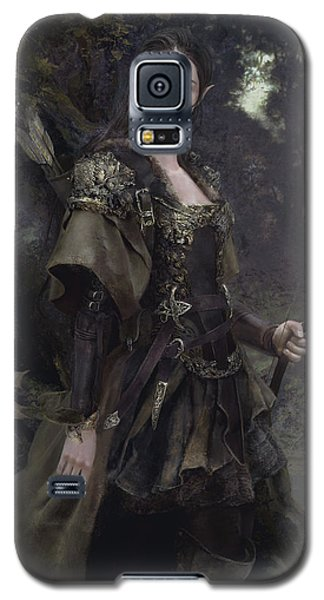 Elf Galaxy S5 Case - Waldelfe by Eve Ventrue