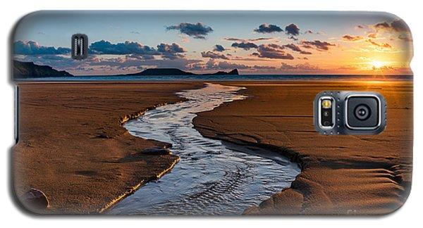 Wales Gower Coast Galaxy S5 Case