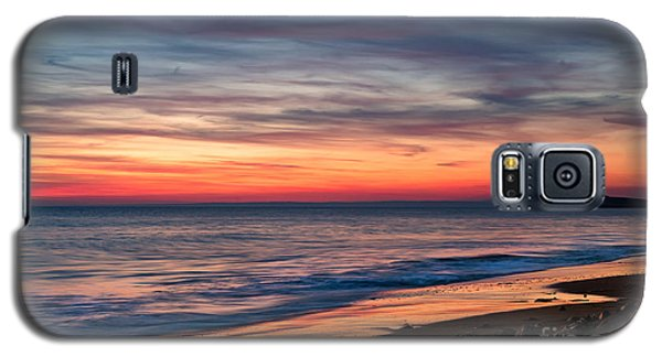 Wales Gower Coast Dusk Galaxy S5 Case