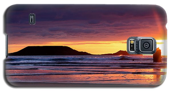 Wales Gower Coast Helvetia Galaxy S5 Case