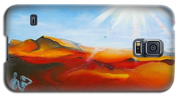 Walk A Mile Galaxy S5 Case