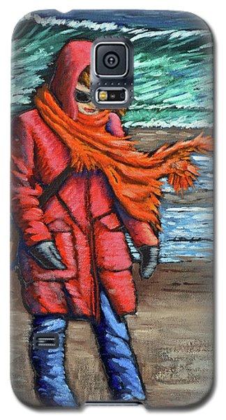 Walk On Beach Galaxy S5 Case