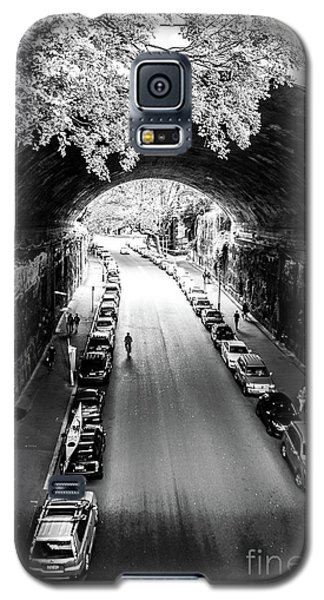 Galaxy S5 Case featuring the photograph Walk The Tunnel by Perry Webster
