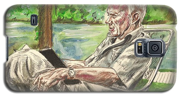 Walker Percy At The Lake Galaxy S5 Case